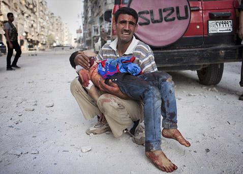 Συρία: Αιματηρή επίθεση με 58 νεκρούς στο Χαλέπι