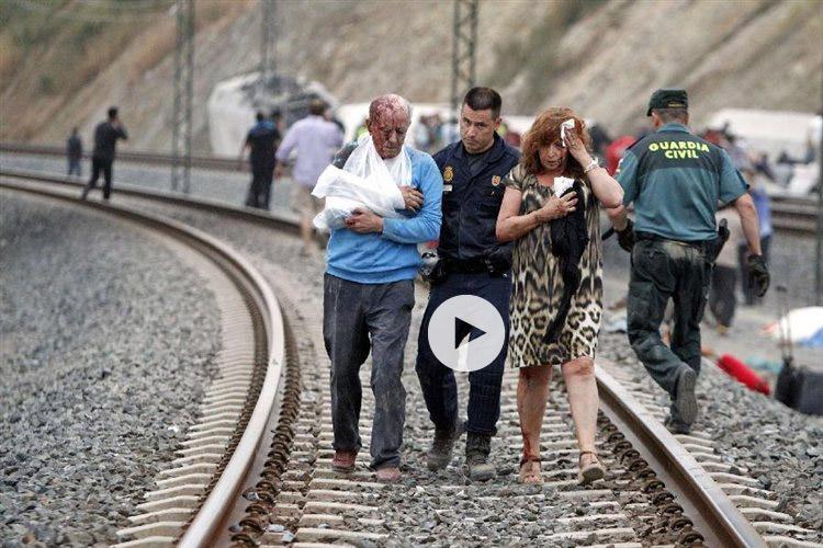 Νέο σοκαριστικό βίντεο για την τραγωδία στην Ισπανία