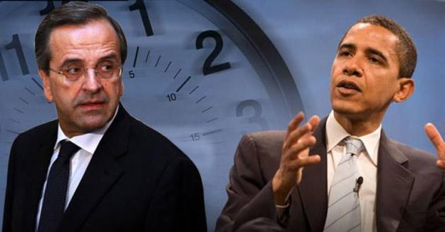 Οικονομία, ενέργεια στην ατζέντα Ομπάμα - Σαμαρά