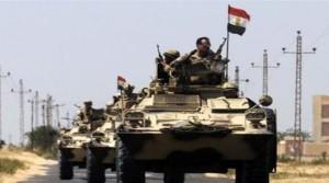 Ευρεία επιχείρηση του αιγυπτιακού στρατού στη χερσόνησο του Σινά