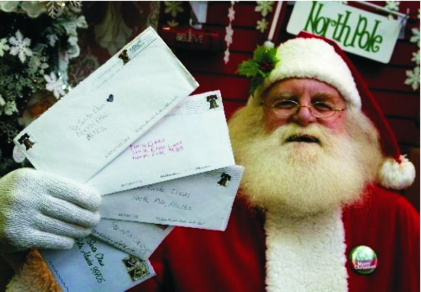 Ο Άγιος Βασίλης έχει λάβει 8 εκατομμύρια γράμματα