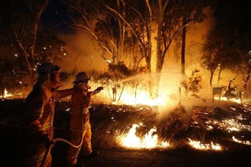 Καταστροφικές πυρκαγιές στην Αυστραλία