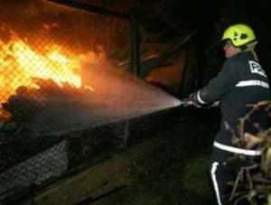 Εκκενώθηκε πολυκατοικία, λόγω πυρκαγιάς