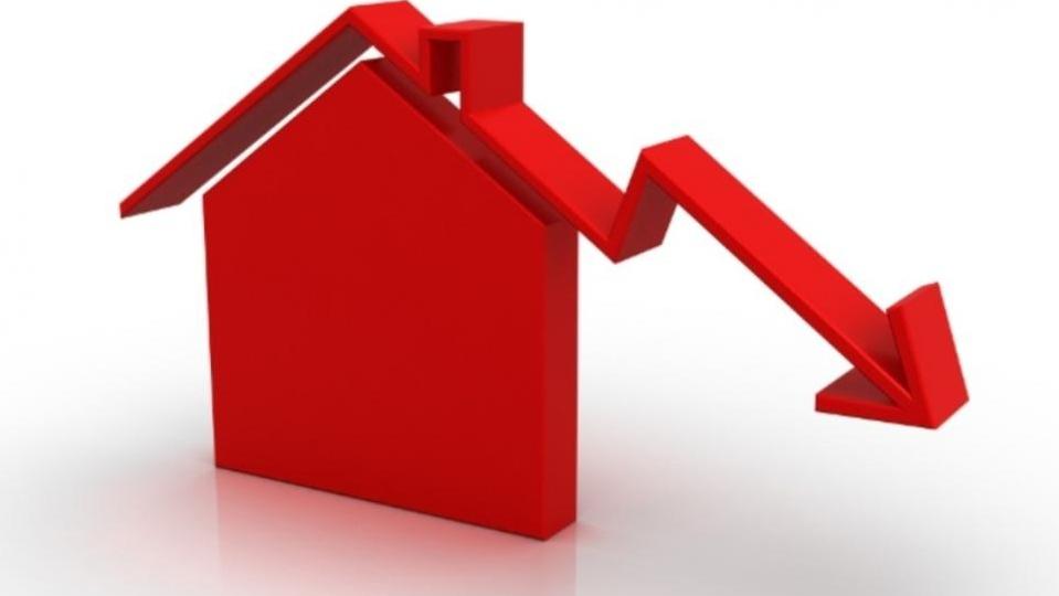 Πτώση 10,3% στις τιμές των διαμερισμάτων το 2013