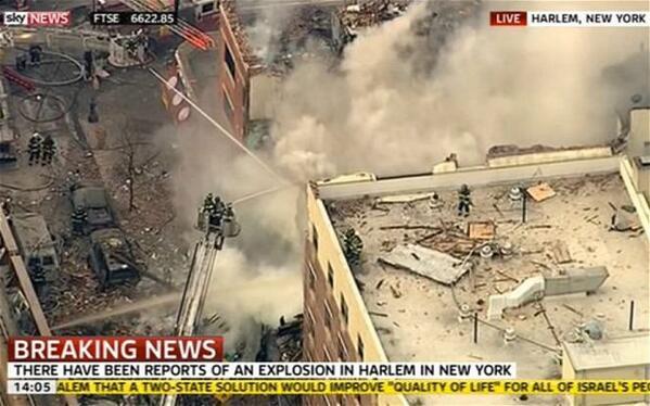 Από διαρροή αερίου η φονική έκρηξη στη Νέα Υόρκη